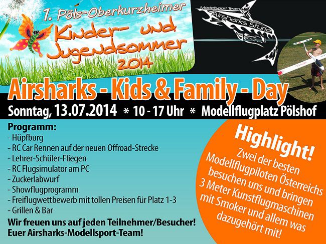 Airsharks Kids Day 13.07.2014